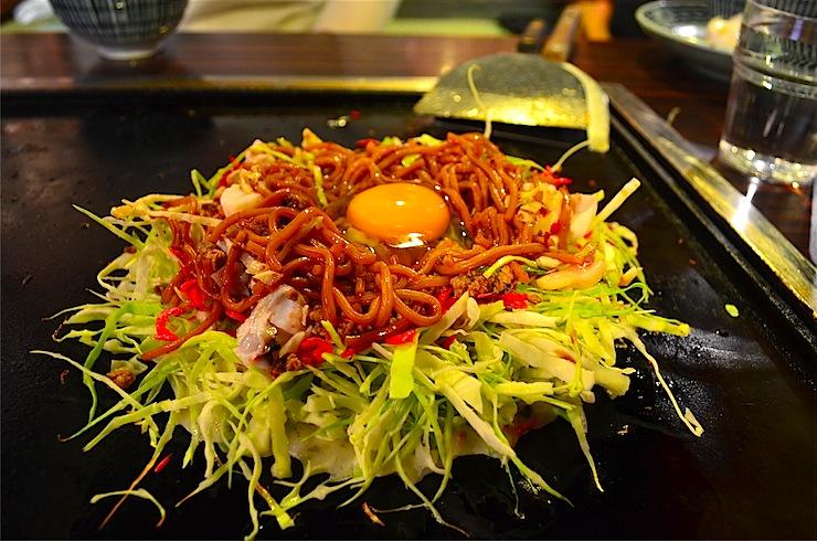Pre-war nostalgia at Asakusa Okonomiyaki restaurant 'Sometaro'