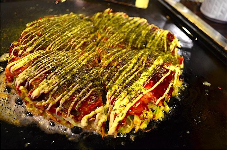 sometaro asakusa okonomiyaki restaurant in Tokyo