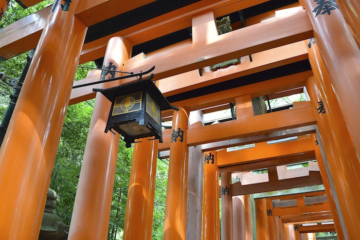 Located in Kyoto's Fushimi ward, it is the grand head shrine of more than thirty thousand Inari-jinja shrines across Japan.