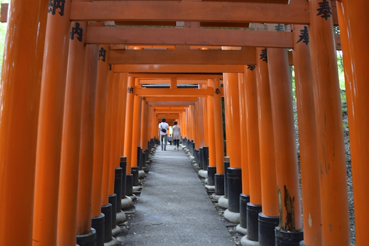Fushimi Inari Taisha in Kyoto is one of the most globally recognised shrines in Japan.