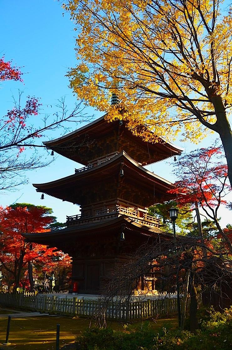 Pagoda at the Setagaya Ward Shrine