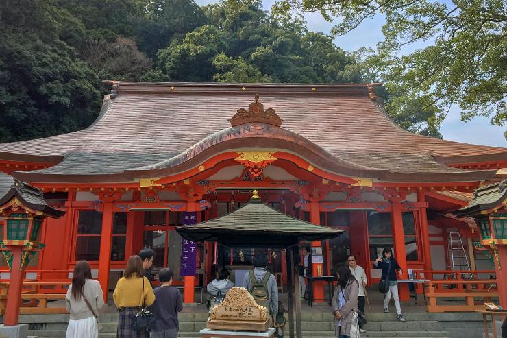 Nachisan marks the finishing point of the Kumano Kodo pilgrimage, as three routes converge here.