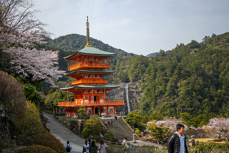 Shintoism is indigenous to Japan and involves worshipping elements of nature, such as mountains and waterfalls.