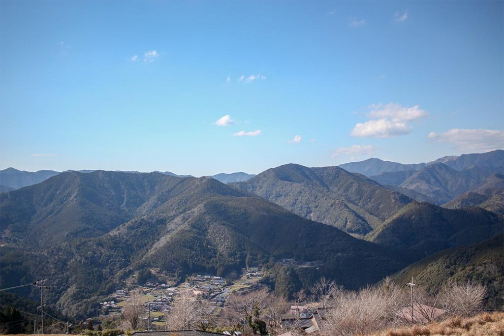 Nakahechi route is the most popular in Kumano Kodo trail.