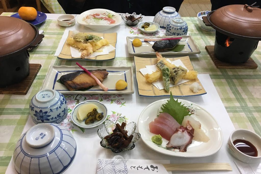 The accommodation for the night was at Takata Green Onsen Hotel. It is the typical countryside accommodation–everything you need with a healthy dose of quirk.