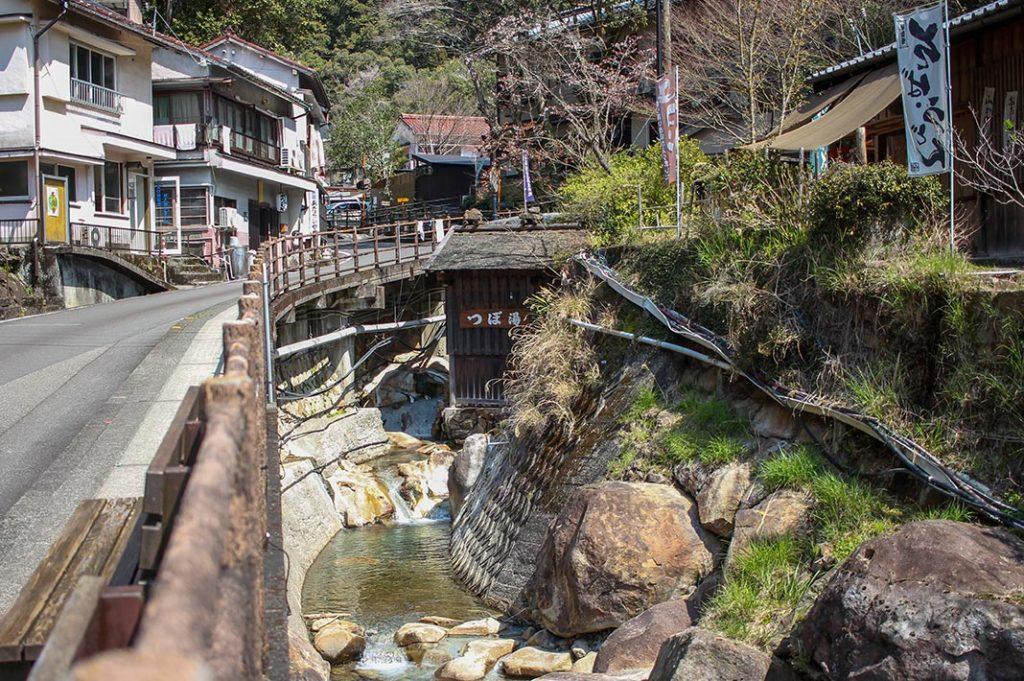 yunomine-onsen hot spring kumano kodo
