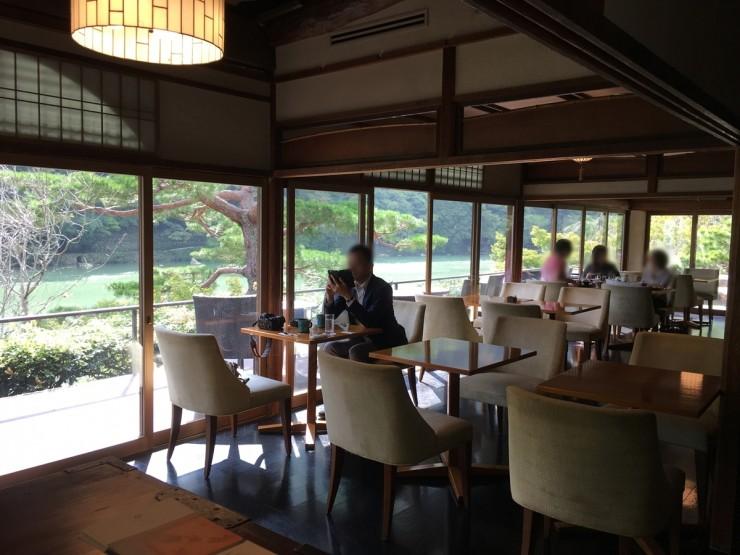 Arashiyama Food Coffee Afternoon Tea Suiran Hotel Teahouse Riverside Elegant Luxury Cafe Hassui