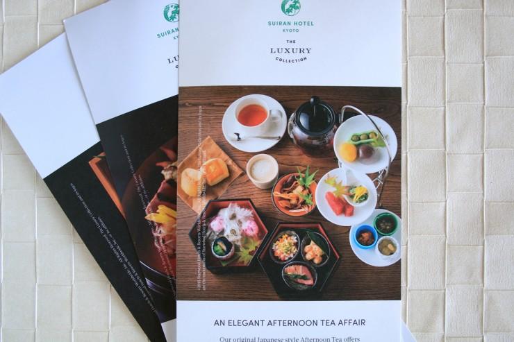 Arashiyama Food Afternoon Tea Suiran Hotel Teahouse Riverside Elegant Luxury Cafe Hassui