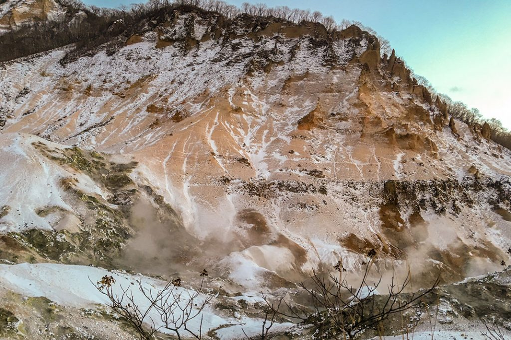 Jigokudani Onsen (Hell Valley) in Noboribetsu
