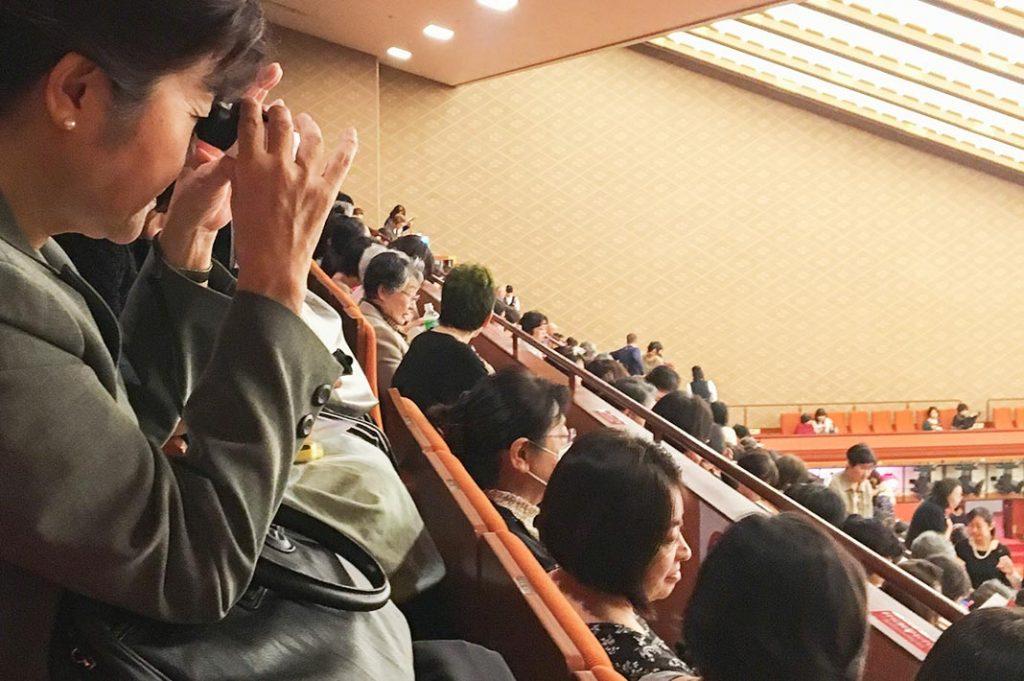 single act kabuki tickets at the kabukiza theatre in tokyo