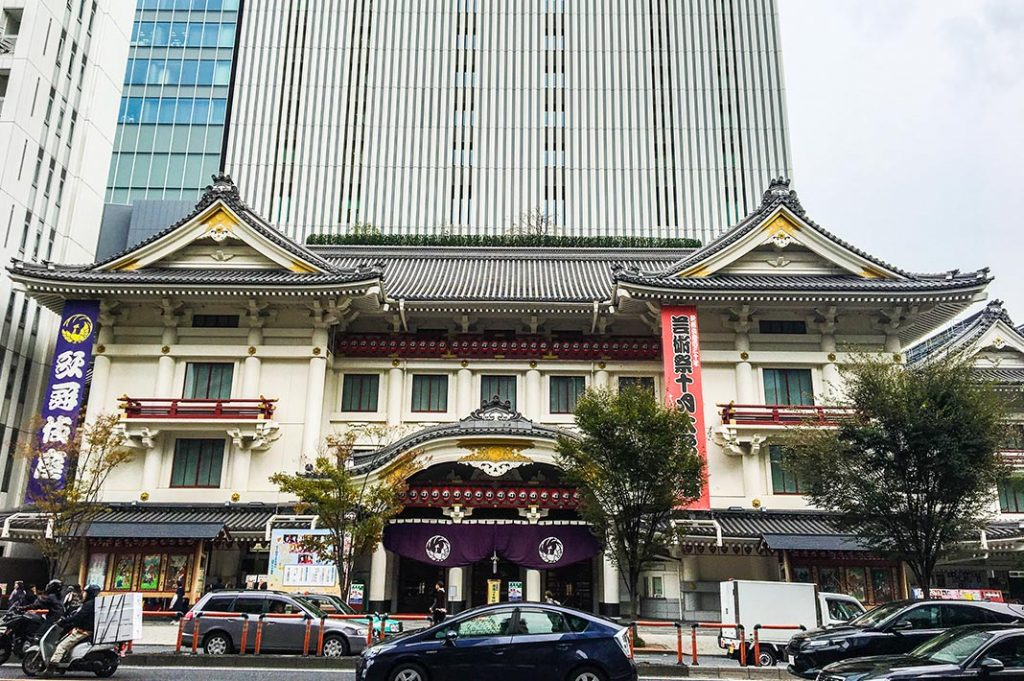 how to buy single act kabuki tickets at the kabukiza theatre in tokyo