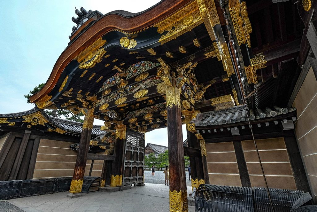 The Tokugawa Shogunate built Nijo Castle in 17thcentury, and it is one of the 17 Historic Sites of Ancient Kyoto.