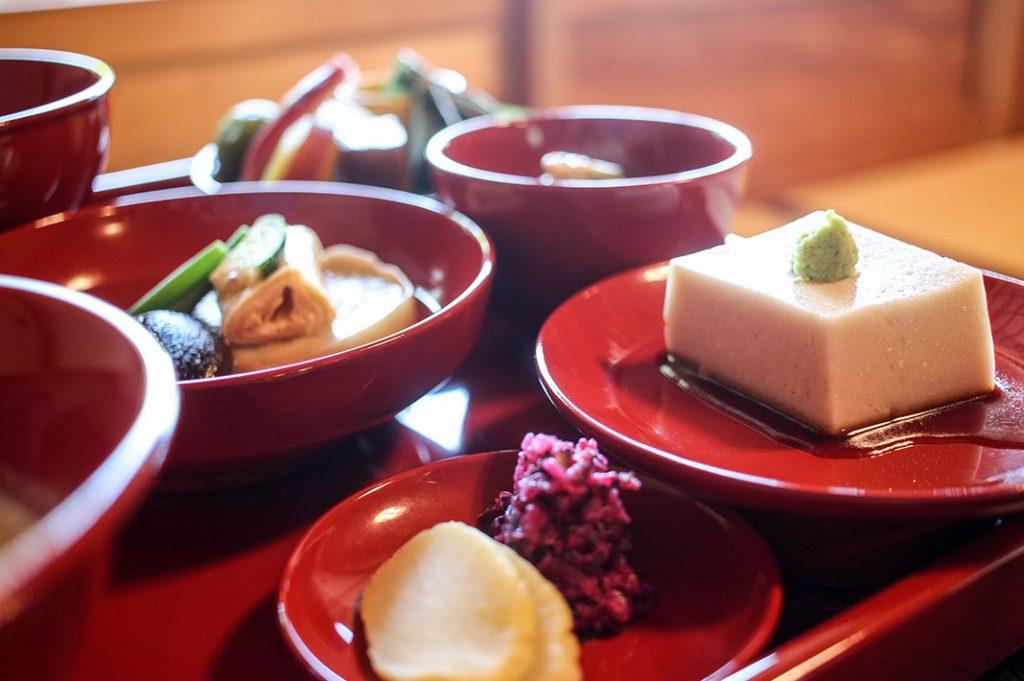 Zen Buddhist Vegetarian food