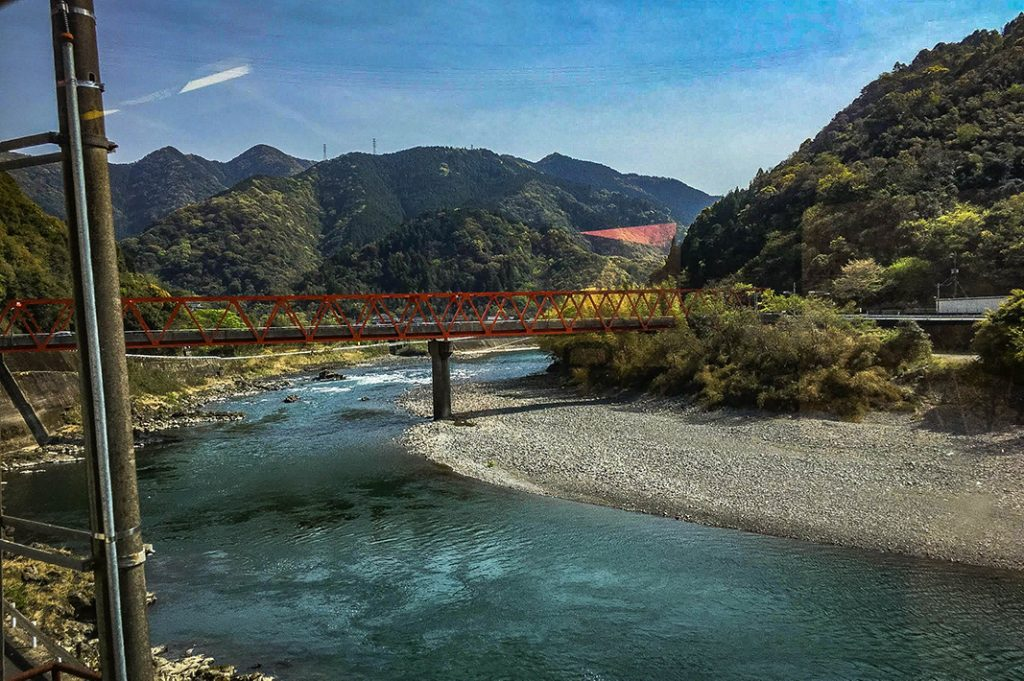 The fast flowing Kuma River runs through Hitoyoshi and provides an opportunity for onsen and outdoor activities.