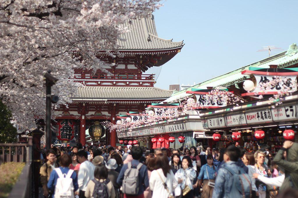 Asakusa Sensoji in Tokyo