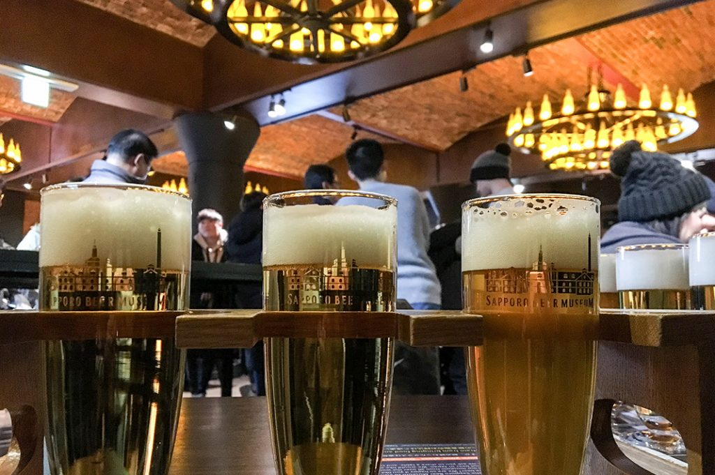 sapporo beer museum, or Sapporo Beer Hakubutsukan, is an old sapporo brewery converted into a fascinating museum.