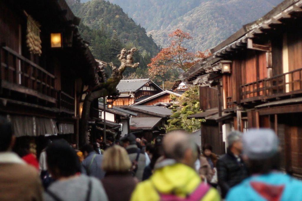 kiso valley: tsumago juku