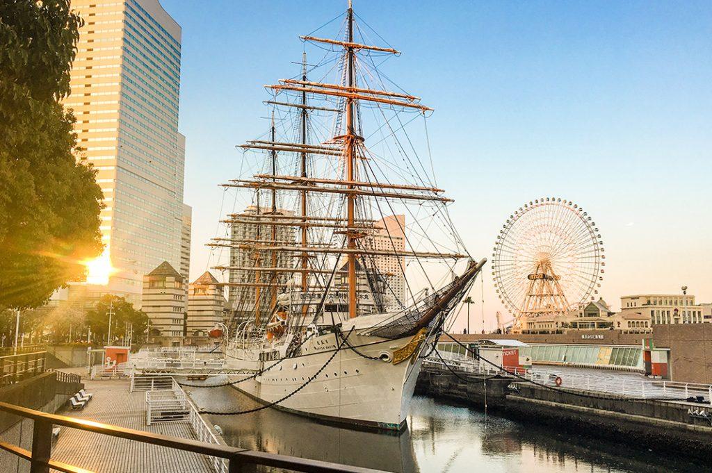 nippon maru training ship yokohama minatomirai