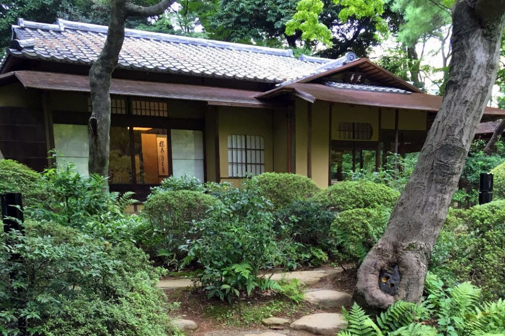 A cosy teahouse within the Teien Art Museum's grounds, next to the Institute for Nature Study