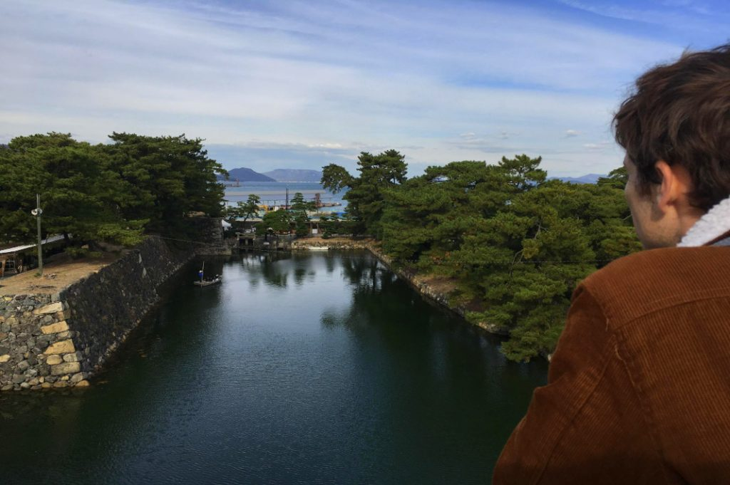 Catch sea breezes and views from the ruins of Takamatsu Castle.