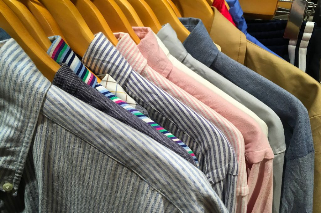Don Don Down on Wednesdays has a wide selection of casual and formal used clothing.