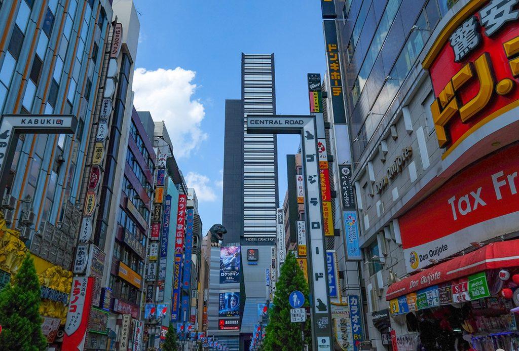 Godzilla Road in Kabukicho