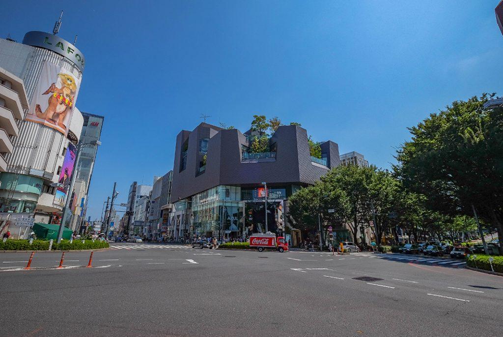 At the intersection between Harajuku and Omotesando