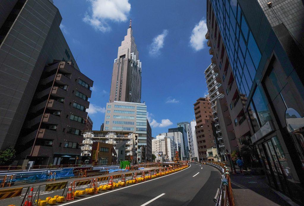 On the way to Shinjuku from Harajuku