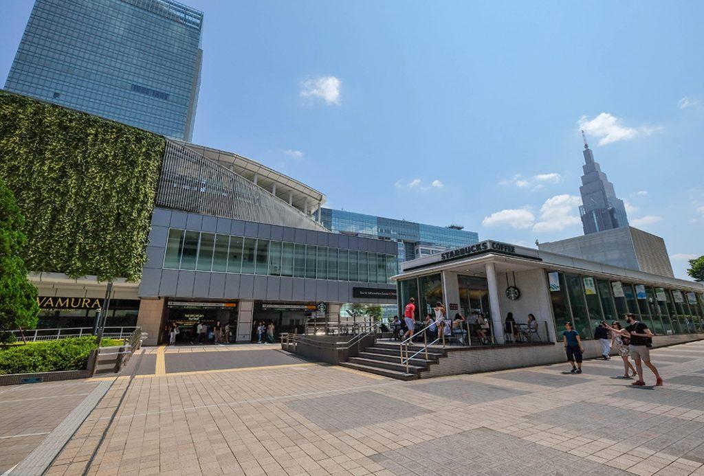 Tourist Information center at Shinjuku station