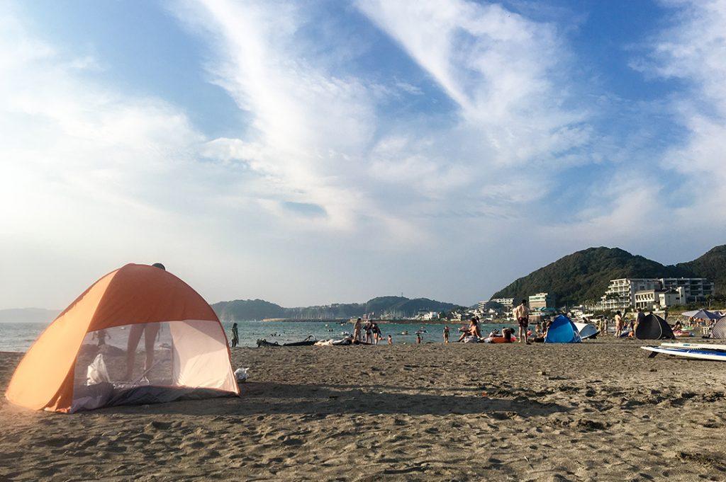 Morito Beach is a beach near Tokyo featuring sand, sun and summer fun!