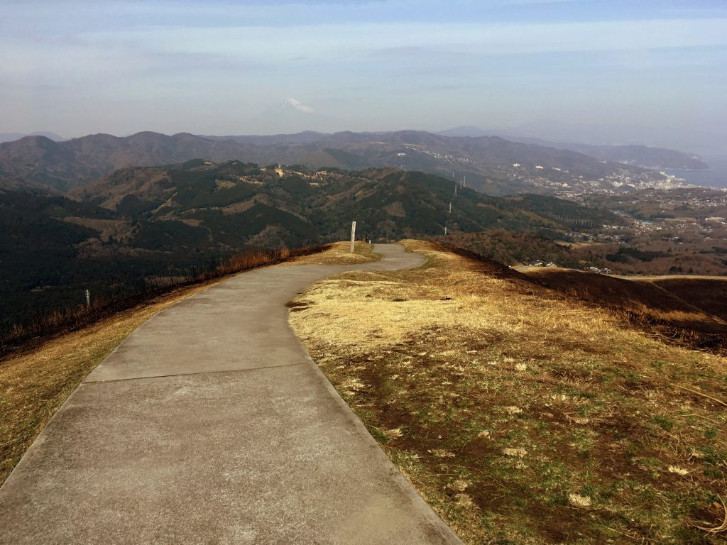 Follow the path to catch panoramic views of the surrounding area.
