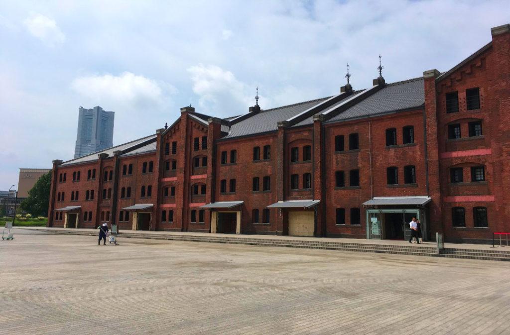 Any Yokohama Seashore Tour is likely to go through the Red Brick Warehouse buildings.