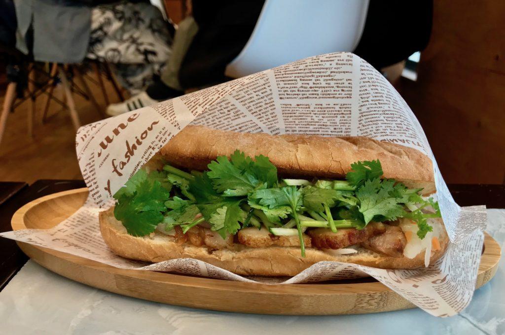 Banh mi at Cafe Giang