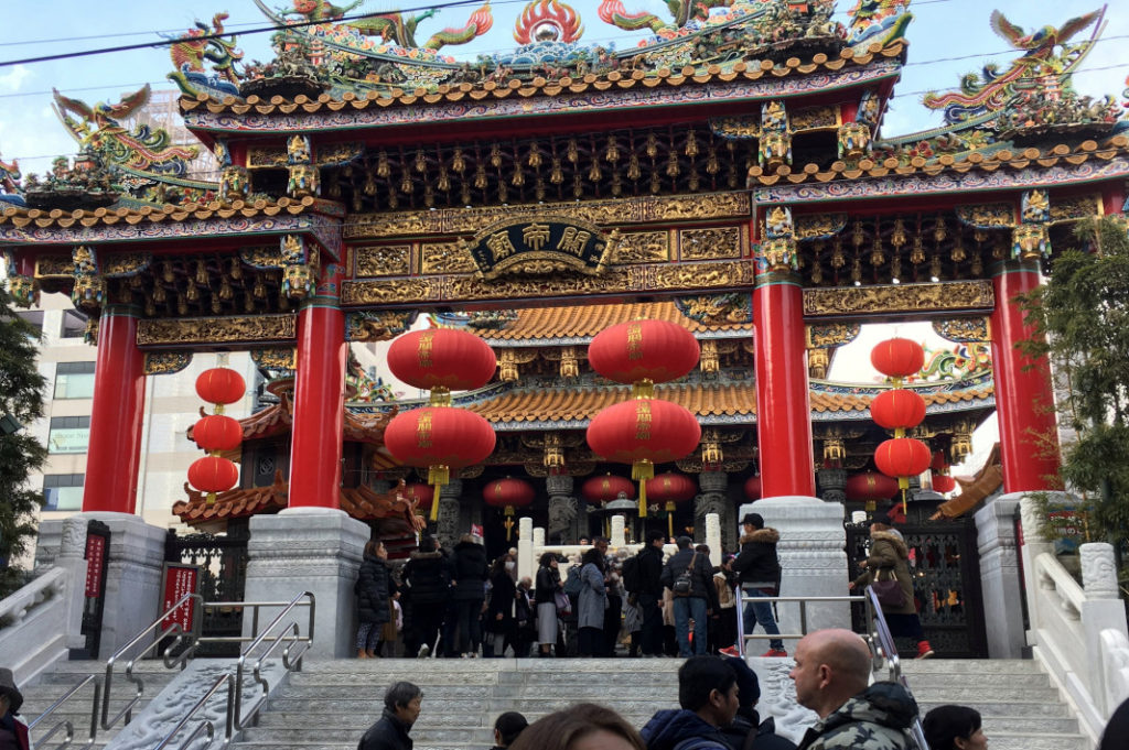 Deeper into the city, Chinatown is directly opposite the Yokohama International Passenger Terminal and Osanbashi Pier.