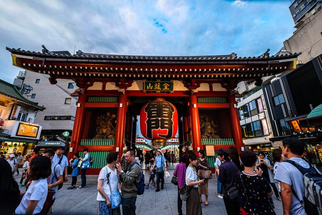 Sensoji Temple Kaminarimon Gate