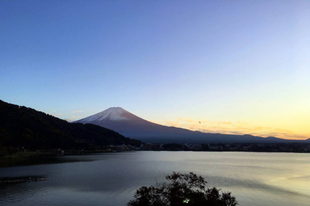 Planning an overnight trip from Tokyo? Choose Lake Kawaguchiko for the best views of Mt. Fuji
