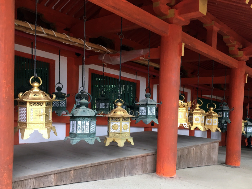 After you've finished, check out the nearby Kasuga Taisha Shrine in Nara Park.