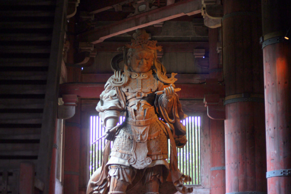 One of the Great Buddha's inner guardians