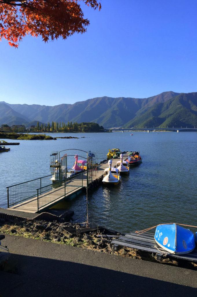 Lake Kawaguchiko is a fantastic overnight trip from Tokyo