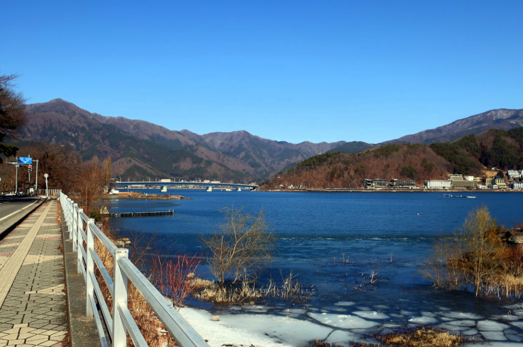 Want to take an overnight trip from Tokyo in the winter? Lake Kawaguchiko is stunning even in February
