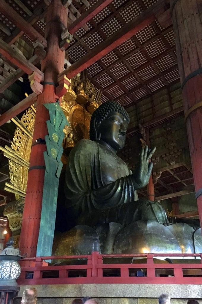 the great buddha at todai-ji temple