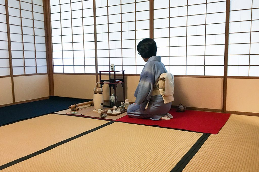 Uji's Taihoan is a wonderful place to experience a tea ceremony in kyoto