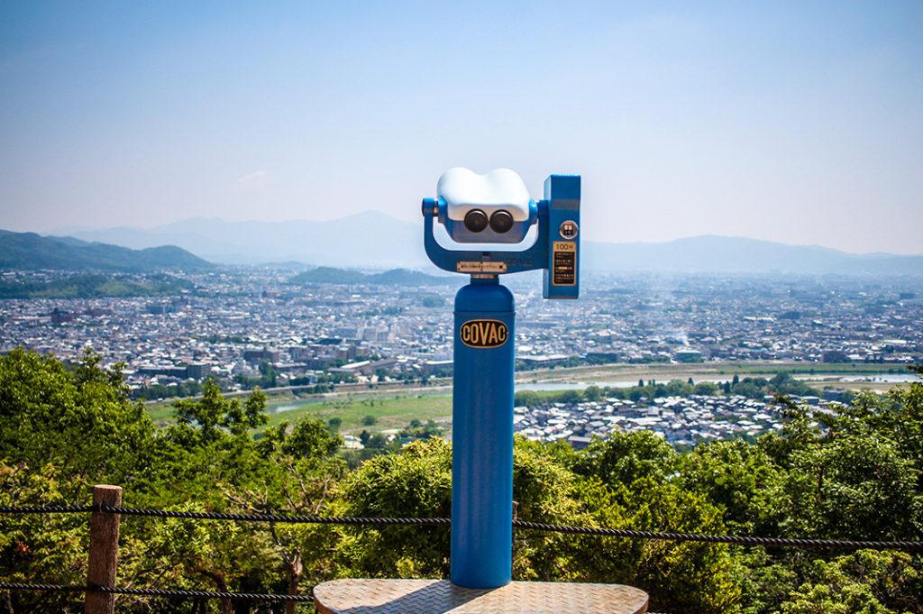 Views from Arashiyama Monkey Park, Kyoto