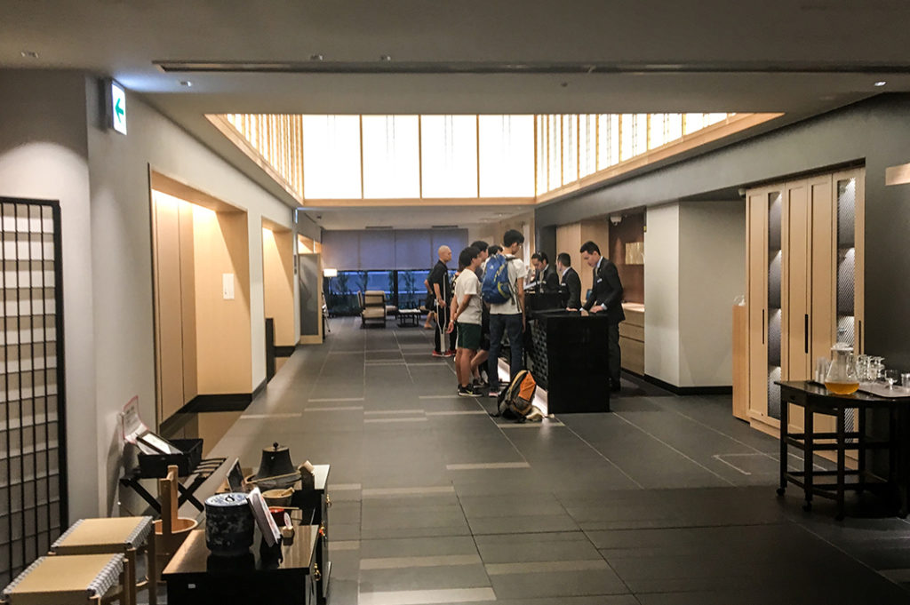 Good-value, conveniently-located hotels in Kyoto: Hotel Intergate