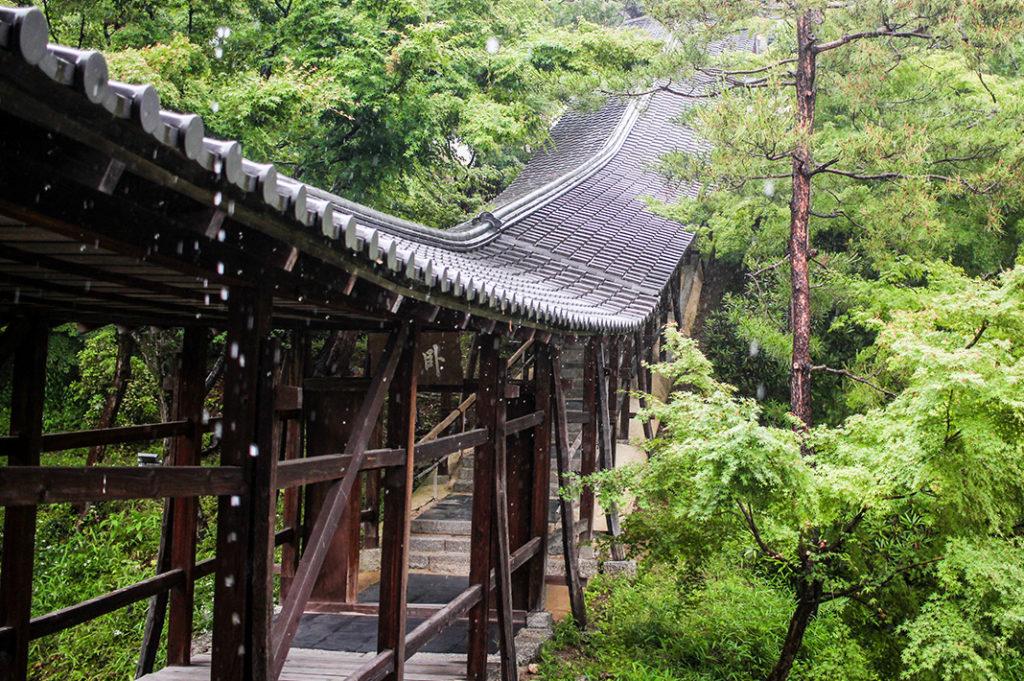 The Garyoro (Reclining Dragon Corridor) at Kodaiji Temple
