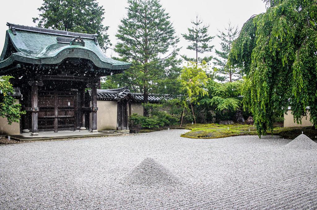 Dry Rock Garden at Kodaiji Temple