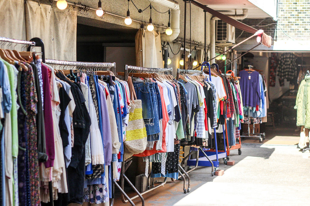 Shops along the Meguro River