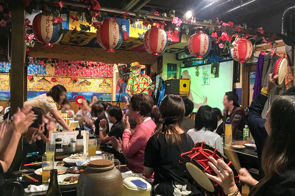 Shinjuku restaurant Okinawa Paradise