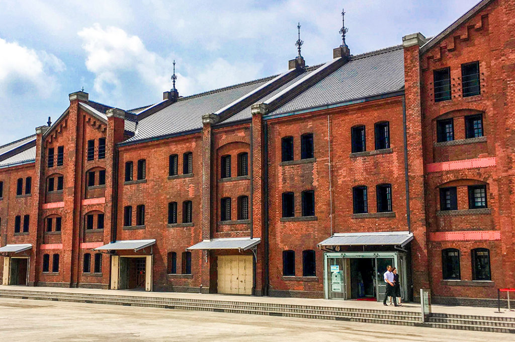 The Yokohama Red Brick Warehouse is a year-round shopper's haven