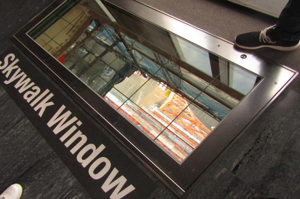 Tokyo Tower's Skywalk Window
